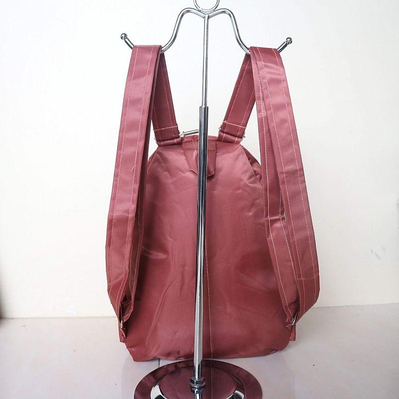 Tas Ransel Gendong Fashion Wanita Anello Kecil Warna Peach ...